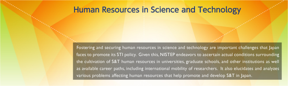 Human Resources in Science and Technology