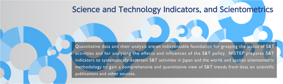 Science and Technology Indicators, and Scientometrics