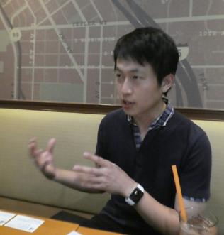 空飛ぶクルマの事業構想について語る中村氏