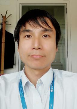 田村 嘉章 OECDグローバル・サイエンス・フォーラム 事務局 政策分析官(田村氏提供)
