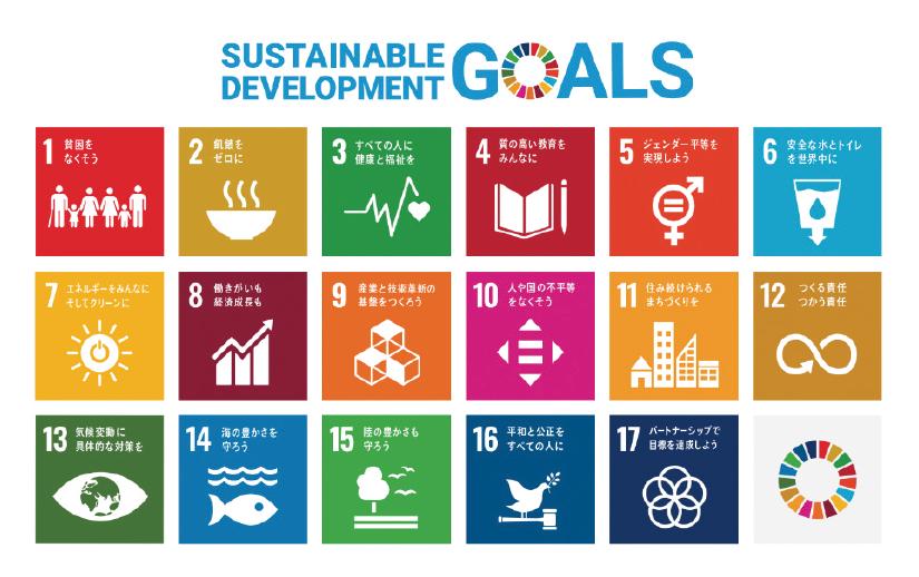 図表2 SDGs(持続可能な開発目標)